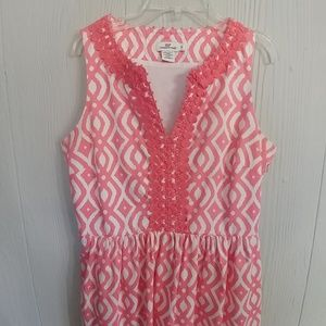 Vineyard Vines Embroidered Shift Dress Like New!